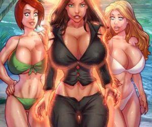 Comics ZZZ- Island Grown 2, blowjob , threesome  transformation