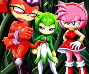 Comics Palcomix- Team GFs' Tentacled Tale, forced , group  sonic the hedgehog