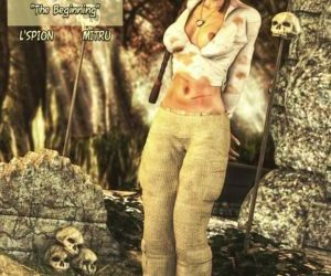 Comics Lara Croft-The Beginning, lara craft  forced