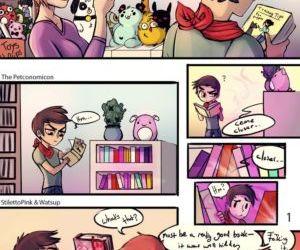 Comics The Petconomicon, transformation  gender bending