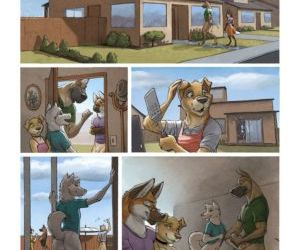 Comics The Neighbors Wife, furry , cheating  orgy