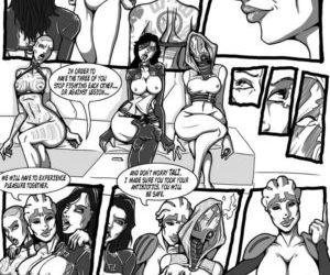 Comics The Forbidden Choice, harem