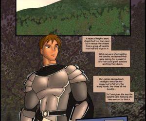 Comics The Dragons Knight, shemale  futanari x male