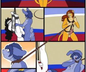 Comics The Beast Tamer, furry  bondage