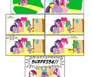 Comics The Surprise Party, my little pony  furry