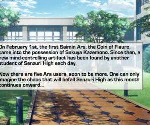 Comics Senzuri High 4, mind control  yuri