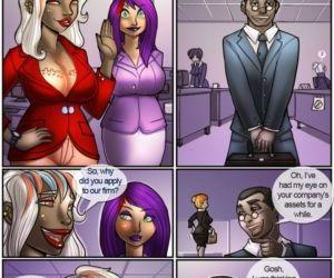 Comics Teriffic Penis Service Reports, threesome  futanari x male