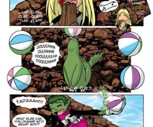 Comics Teen Titans, teen titans  gender bending