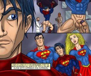 Comics Superboy, threesome  bisexual