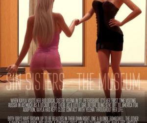 Comics Sin Sisters - The Museum, sister , 3d  affect3d