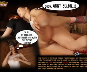 Comics Ranch - The Twin Roses 1 - part 4, mom , 3d  son