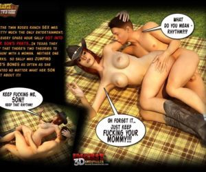 Comics Ranch - The Twin Roses 1 - part 2, 3d  mom
