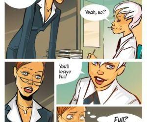 Comics Passing The Test, bondage  threesome