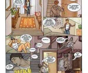Comics Pajama Party, harem  threesome