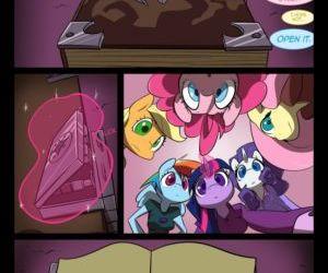 Comics Night Mares 1, furry  my little pony