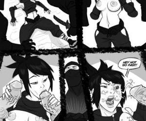 Comics Naughty Ninja gangbang