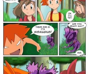 Comics Poke-Girl Now, pokemon  transformation