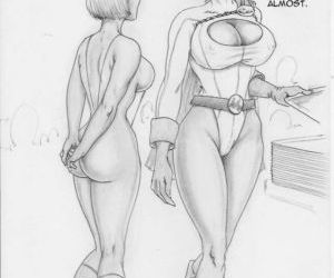 Thong Girl Meets Power Girl