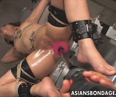 Japanese bondage fucking machine..