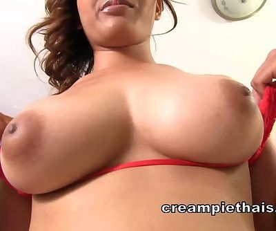 Big natural titty Thai girl gets..