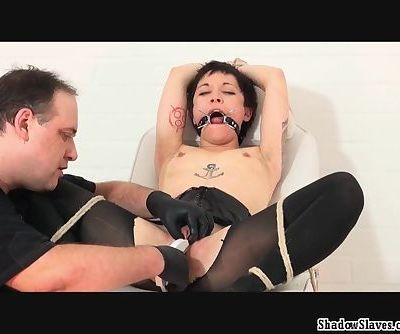 Japanese pussy stapling torture..