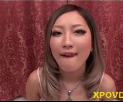 Asian Japanese Cocksucker Gets..