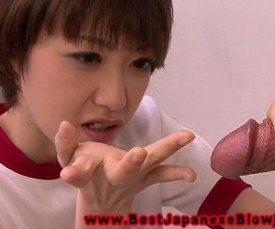 Young asian schoolgirl loves..