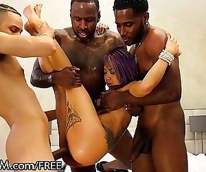 Big Dick Black Guys Team Work..
