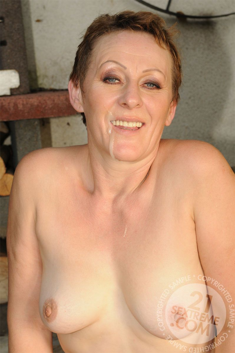 Lusty mature ladies having sex with boy toys, this is old-young bizarre porn at