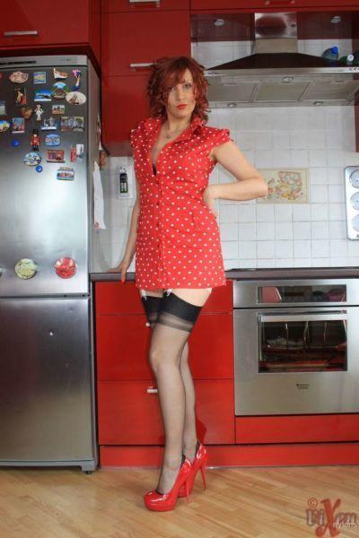 服 赤毛 Vixen ナイロン 得 飲む 月 ワイン 前 を示す 彼女の 裸 滑り