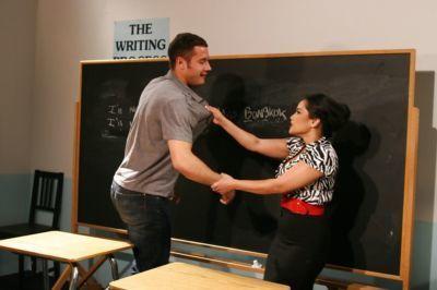 Slutty asian teacher Jessica Bangkok gets shagged hardcore in the classroom