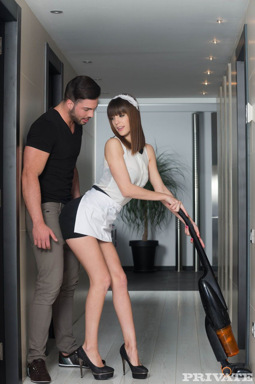 japanese maid carol vega provides man of house with sexual