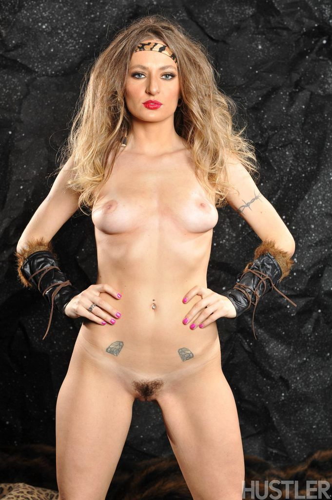 Cosplay sex lover Natasha Starr takes off her fancy costume reveals hairy cunt