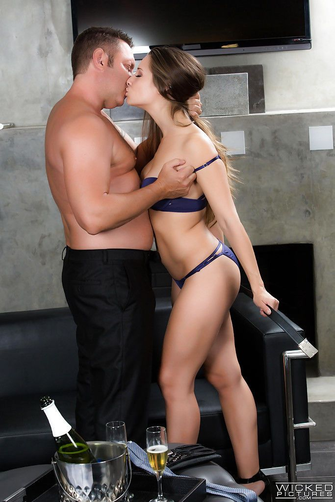 Pornstar Cassidy Klein takes hardcore doggystyle fucking in high heels