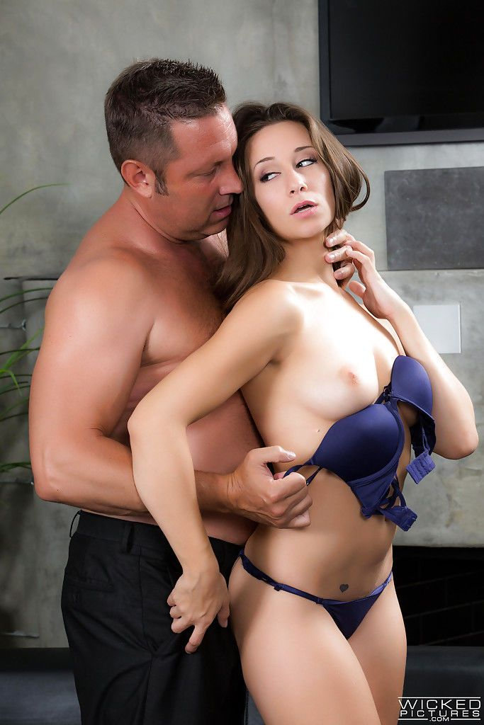 Pornstar Cassidy Klein takes hardcore doggystyle fucking in high heels