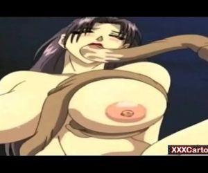Tentance monster fucks girl in hot hentai action - 5 min