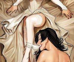 Picture- Cartoon lesbians.