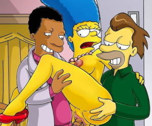 Picture- Homer Share his Wife