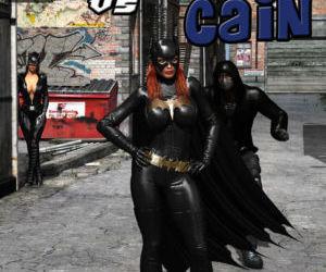 Batgirl vs Cain