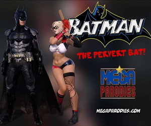 Mega Parodies Comics Collection batman