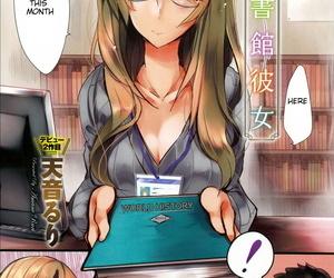 Amane Ruri Toshokan Kanojo - Librarian Girlfriend COMIC Anthurium 032 2015-12 English RookieDreamsScanlation