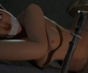 Overwatch - Tracer tied up and fucked