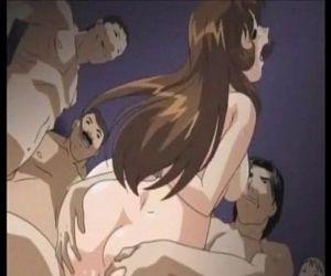 """trẻ hentai Trường :cô gái: Gangbang phim \""""heo\"""" - 2 anh min"""