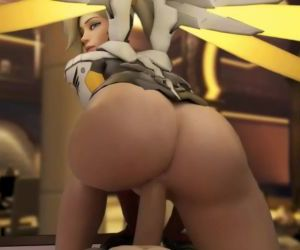 Overwatch HMV/PMV - A Mercy Special - This Girl