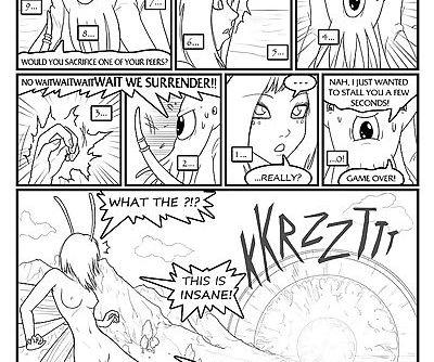 Fairies vs Tentacles Ch. 1-3 -..