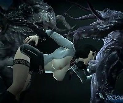 Elizabeth- Bioshock Terror in the Deep Monsters