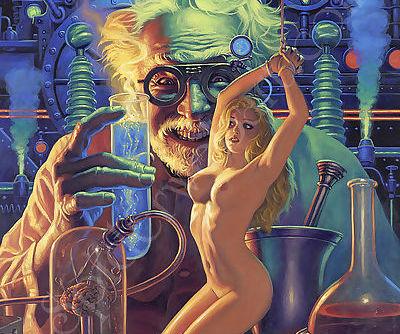 Mad Science - by Greg Hildebrandt