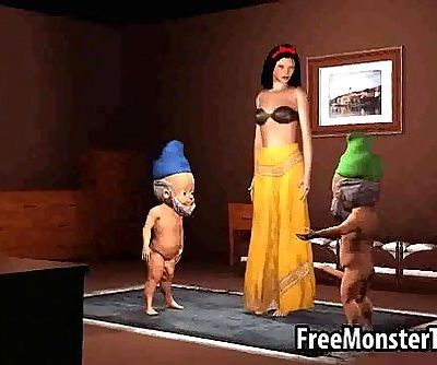 Hot 3D cartoon..