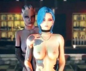 3D--Liara Jinx and Chloe Hot..