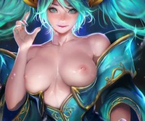 Picture- Sona hentai League Of..